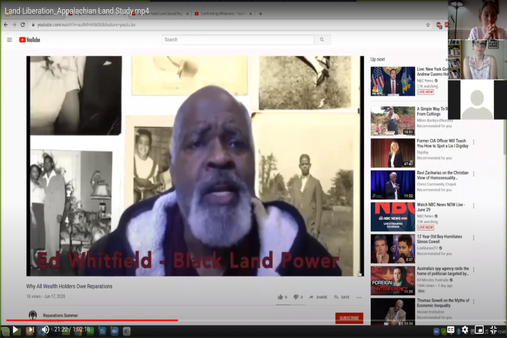 Ed Whitfield of Black Land and Power discusses reparations
